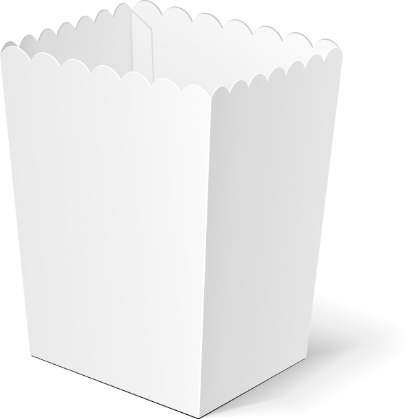 Kraft Paper Popcorn Boxes-4