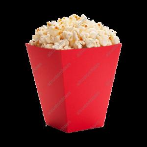Kraft Paper Popcorn Boxes
