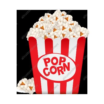 Kraft Paper Popcorn Boxes-1