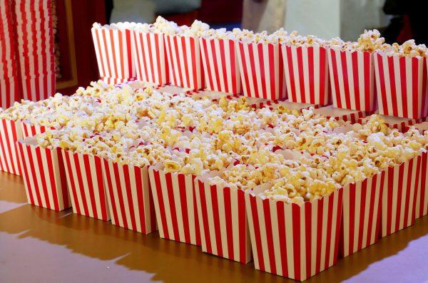 Kraft Paper Popcorn Boxes-3